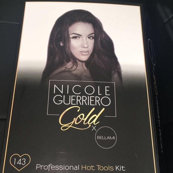 bellami Accessories - BELLAMI Hair X Nicole Guerriero Gold Styling Tools 43506d82aa